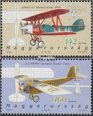 Hungary 4777-4778 unmounted mint / never hinged 2003 Aviation