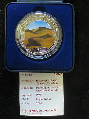 Namibia, 1995, 1 Dollar, Sanddüne in Farbe, 5th Years of Independence