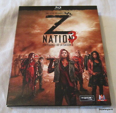 Nation Z / L'integrale De La Saisons 3  ~ 4 Dvd Blu-Ray
