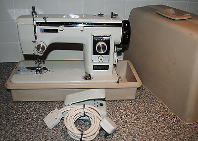 NEW HOME JANOME Heavy Duty Metal Bodied Electric Sewing Machine + Case
