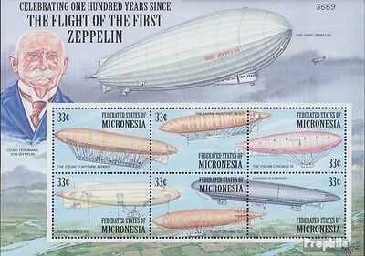 Micronesia 1050-1055 Sheetlet unmounted mint / never hinged 2000 Airships