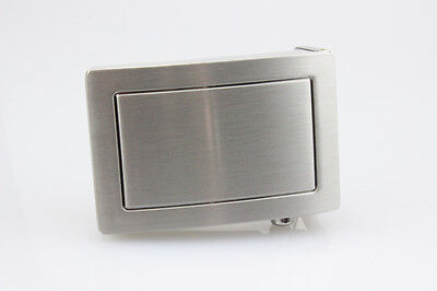 Belt buckle with Secret compartment for Banknotes, Medicines or other Things