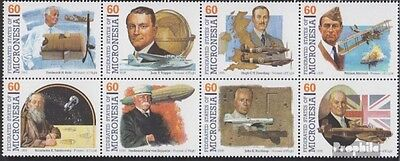 Micronesia 440-447 eighth block unmounted mint / never hinged 1995 Pioneers the