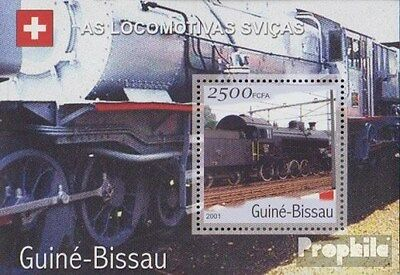 Guinea-Bissau block359 unmounted mint / never hinged 2001 Transportation- and Tr