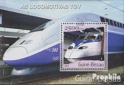 Guinea-Bissau Block363 unmounted mint / never hinged 2001 Transportation- and Tr