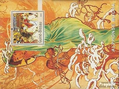 Guinea-Bissau Block440 unmounted mint / never hinged 2003 Paintings