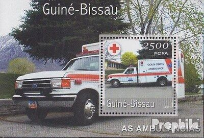 Guinea-Bissau block355 unmounted mint / never hinged 2001 Transportation- and Tr