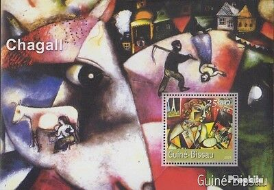 Guinea-Bissau Block340 unmounted mint / never hinged 2001 Paintings