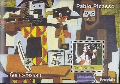 Guinea-Bissau Block339 unmounted mint / never hinged 2001 Paintings