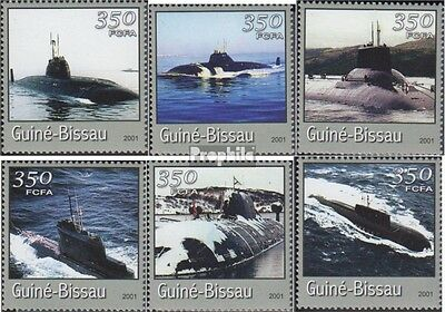 Guinea-Bissau 1713-1718 unmounted mint / never hinged 2001 Transportation- and T