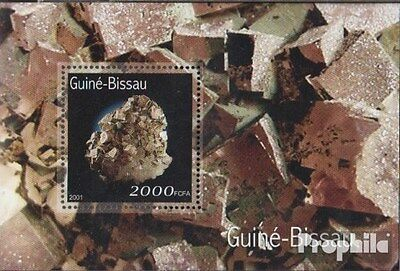 Guinea-Bissau block333 unmounted mint / never hinged 2001 Minerals