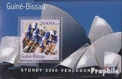 Guinea-Bissau block307 unmounted mint / never hinged 2001 Medalists Olympia 2000
