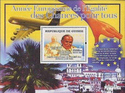 Guinea Block1388 unmounted mint / never hinged 2007 equal opportunities