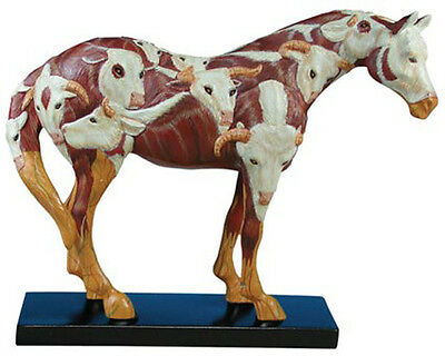 Trail of Painted Ponies COWPONY HORSE FIGURINE New In Box, 1st Edition!
