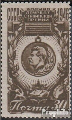 Soviet-Union 1078 unmounted mint / never hinged 1946 Stalinpreis