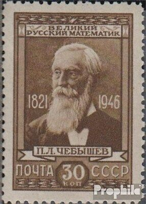 Soviet-Union 1023 unmounted mint / never hinged 1946 125 areas. Tschebyschevs