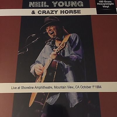 Neil Young 'Live at Shoreline, Mountain View, CA 1994 Vinyl LP / New & Sealed