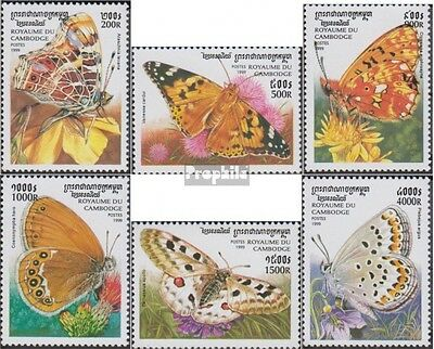 Cambodia 1930-1935 unmounted mint / never hinged 1999 Butterflies