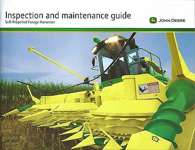Farm Brochure John Deere SP Forage Harvester Inspection Maintenance c2011(F5475)