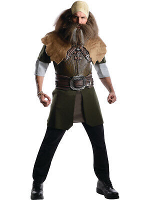 Adults Lord of the Rings Hobbit Deluxe Dwalin Viking Costume Standard 44