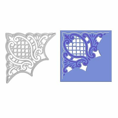 Corner Metal Cutting Dies Stencil Scrapbooking Album Paper Card Embossing Craft