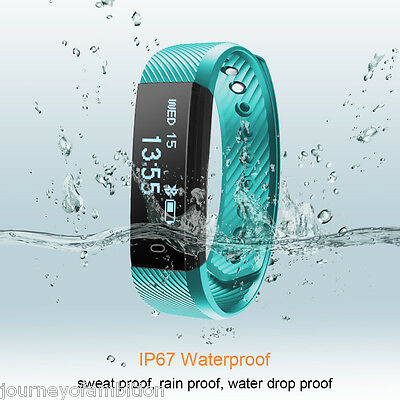 ID115 Sport Reloj Pulsera Inteligente Podómetro impermeable IP67 for Android IOS