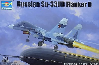 TRUMPETER® 01669 Russian Su-33UB Flanker D in 1:72