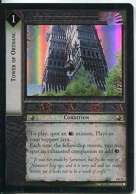 Lord Of The Rings CCG Foil Card RotEL 3.R71 Tower Of Orthanc