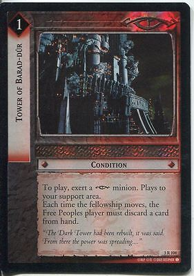 Lord Of The Rings CCG Foil Card RotEL 3.R104 Tower Of Barad Dur