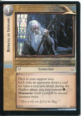 Lord Of The Rings CCG Card RotEL 3.R29 Betrayal Of Isengard