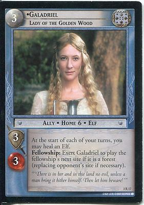 Lord Of The Rings CCG Card RotEL 3.R17 Galadriel, Lady Of The Golden Wood