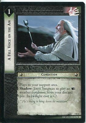 Lord Of The Rings CCG Card RotEL 3.R52 A Fell Voice On The Air