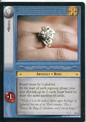 Lord Of The Rings CCG Card RotEL 3.R23 Nenya