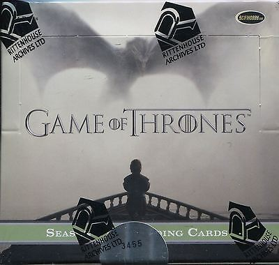 Game Of Thrones Season 5 Factory Sealed Hobby Box