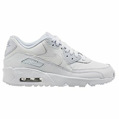 Nike Air Max 90 White Youths Trainers