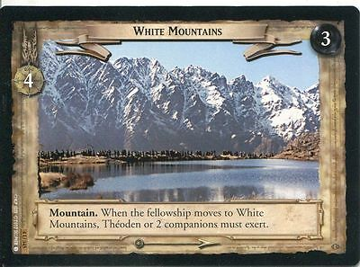 Lord Of The Rings CCG Card TTT 4.U345 White Mountains