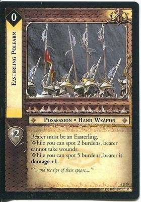Lord Of The Rings CCG Card EoF 6.U79 Easterling Polearm