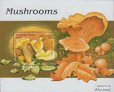 Afghanistan Block 99 (completa.Problema.) MNH 1998 Funghi