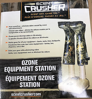 New Scent Crusher Equipment Boot Station Scent Elimination 69411-BS
