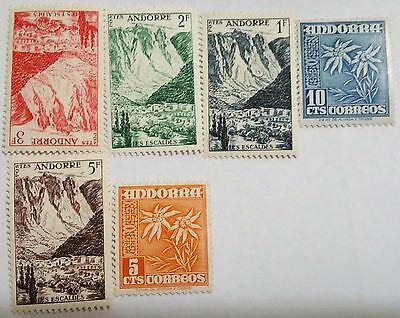 Andorra Unused/nh   Stamps Scu2969Ww . ..worldwide Stamps