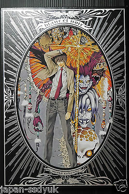 "JAPAN Takeshi Obata (Death Note, Hikaru no Go) Illustrations ""blanc et noir"""
