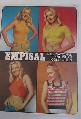 The Empisal Knitting Machine Patterns - 4 Tops - Bras appear optional