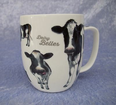 Bone China Mug - Dairy Belles Collection - Fresian Cows - Ashdene - New In Box