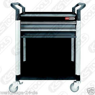 KS TOOLS Workshop-car service with 2 Drawers and Fairing 800.0031