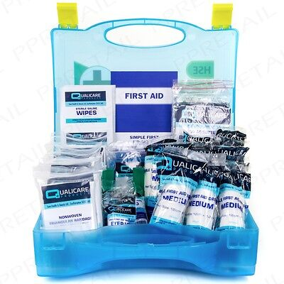 PREMIUM 20 PERSON HSE APPROVED FIRST AID CATERING KIT Kitchen Box + Wall Bracket