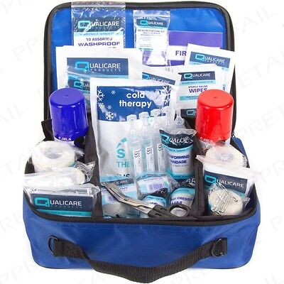 TOUCHLINE PHYSIO FIRST AID KIT Sport Sprain/Swelling Hockey/Football/Rugby Medic