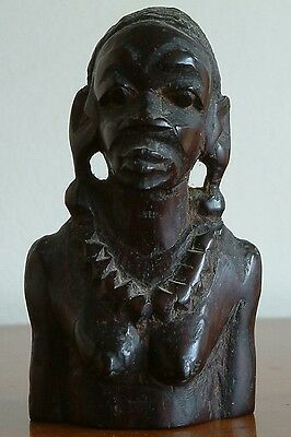 African Carving Figure Of Woman
