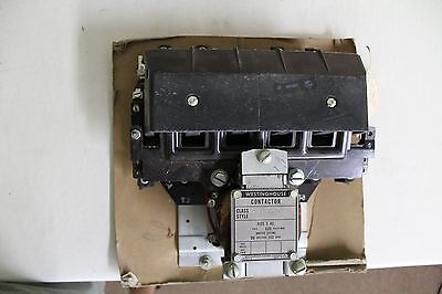 NOS Westinghouse 4 Pole Contactor Size 3 AC 47S-342 15-825-N.3