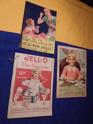 3 Jell-O The Kewpies 1913 New Talks About 1915 What Mrs Dewey Did With The New