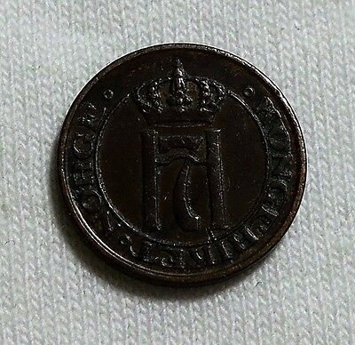 1911 Norway One Ore Coin